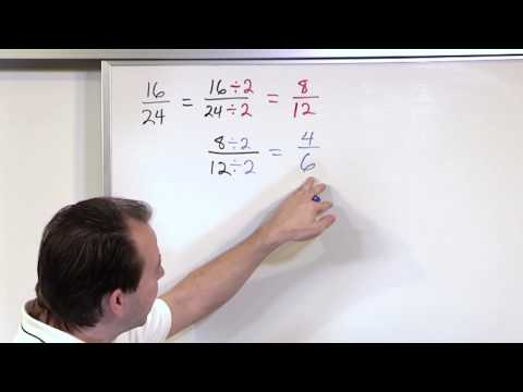 Simplifying Fractions - 5th Grade Math