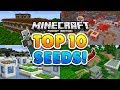 TOP 10 BEST SEEDS for Minecraft Pocket Edition!!