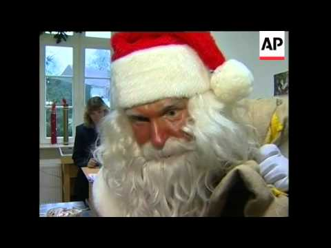 Santa Claus opens post office for Christmas letters