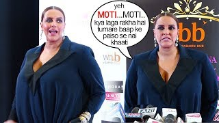 Neha Dhupia's ANGRY Reaction On Her Extreme Weight Increase After Delivery