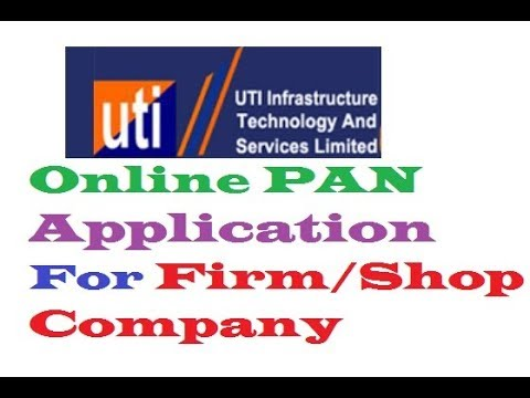 How To Online PAN Application For Firm/Shop/Company/Government/Induvisual HD 720P,1080P