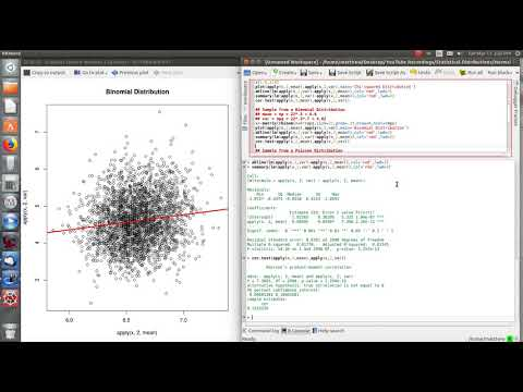 Using R: Sample Mean and Variance - Investigating the Relationship