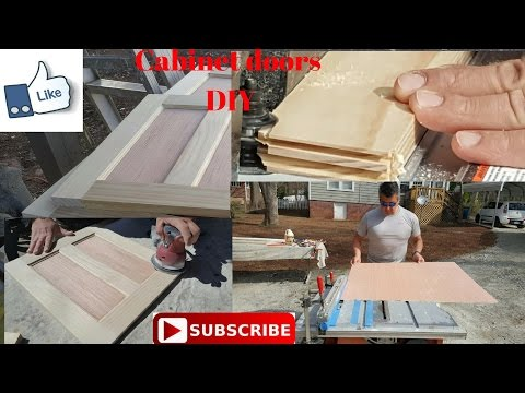 How to make cabinet doors easy