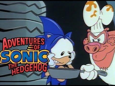 Adventures of Sonic the Hedgehog - Sonic Gets Thrashed | Cartoons for Children | WildBrain Cartoons