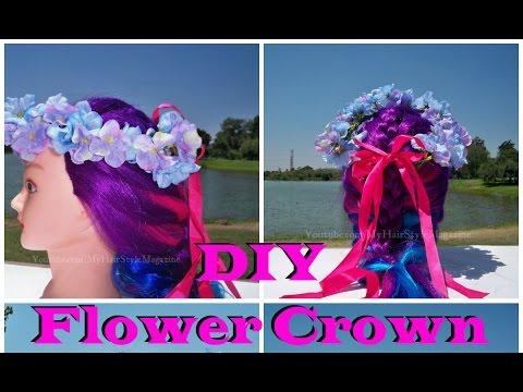 DIY: How to Make Flower Crown Tutorial