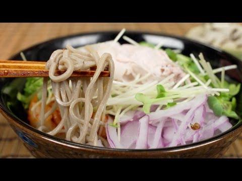 Cold Pork Soba Noodles | Cooking with Dog