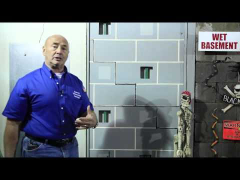 Basement Waterproofing Specialists   Foundation Repair   Saving a Wall