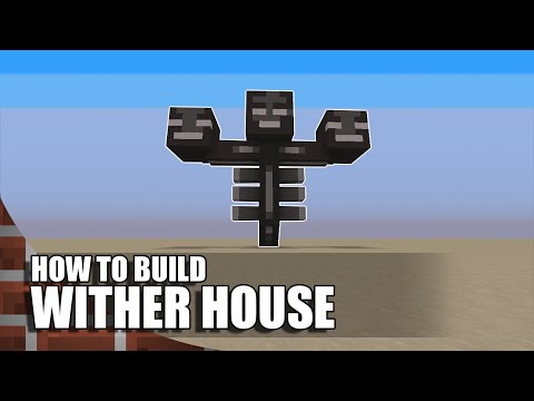 Minecraft: How To Build A Wither House