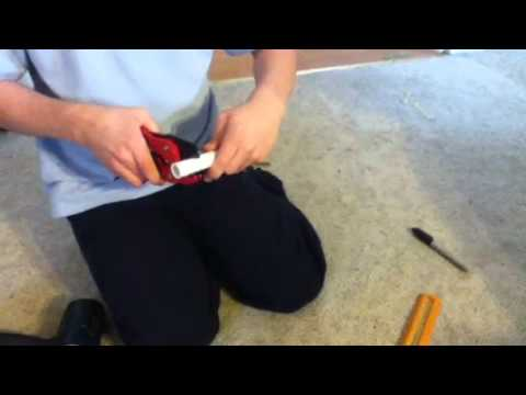 How to make the pull ring cap to a paintball grenade