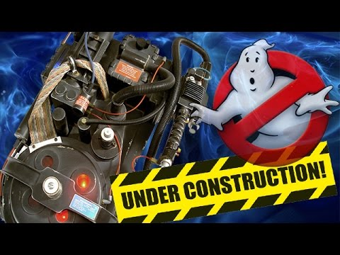 Andy build Ghostbuster Proton Pack Nr.2 update Teil 3