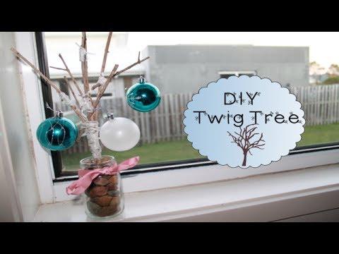 DIY Twig Tree | Ashleigh Huth