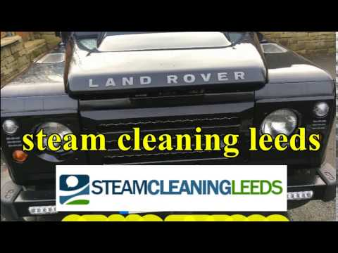 Land Rover Engine Cleaning. Engine Steam Cleaning in Leeds and  West Yorkshire.