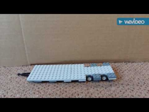How to build a cool lego trailer