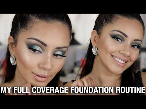 MY FULL COVERAGE FOUNDATION + HIGHLIGHT + CONTOUR ROUTINE