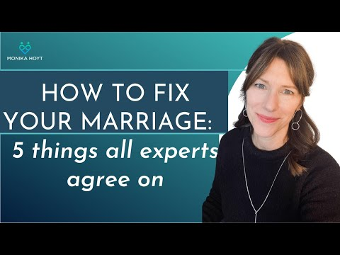 How to fix a marriage (5 tips all experts agree on)