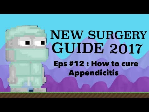 Growtopia - Surgery Update (EPS #12 How to cure Appendicitis)