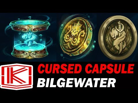 NEW CURSED CAPSULES HEXTECH UNBOXING | Bilgewater Capsules - League of Legends