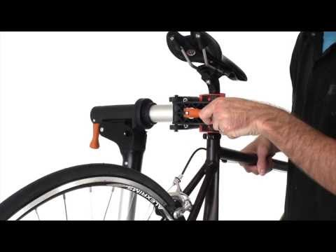 Conquer Portable Bicycle Repair Stand - Aluminum Mechanic Bike Workstand