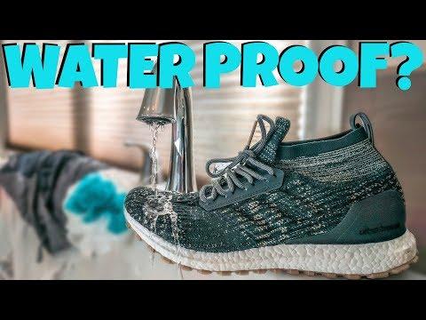 NEW WATERPROOF ULTRA BOOSTS!!