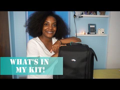 What's In My Freelance Makeup Kit | Stanajah