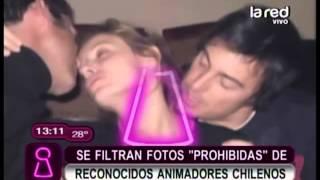 """Se filtran fotos """"prohibidas"""" de reconocidos animadores chilenos"""
