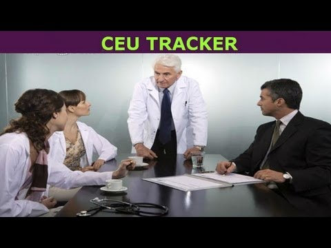 CEU Tracker — Continuing Education Units Medical Coding