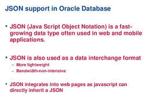 How to insert json data in oracle database  In java