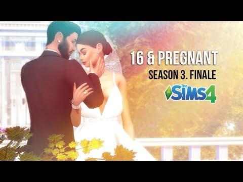 SIMS 4 WEDDING OF THE DECADE | 16 & PREGNANT | SEASON 3. EP. 8 | SEASON FINALE | A Sims 4 Series