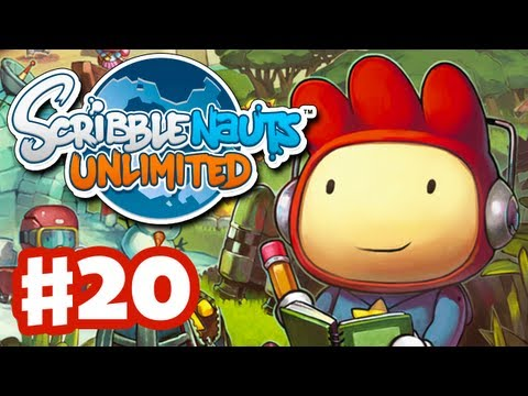 Scribblenauts Unlimited - Gameplay Walkthrough Part 20 - The Listy Colon (PC, Wii U, 3DS)
