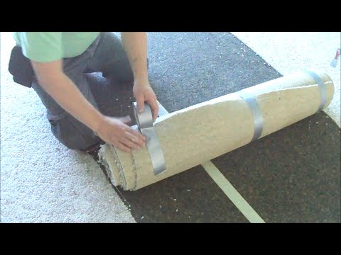 Carpet Removal: Concrete Subfloor Preparation How-To DIY Do It Yourself Mryoucandoityourself