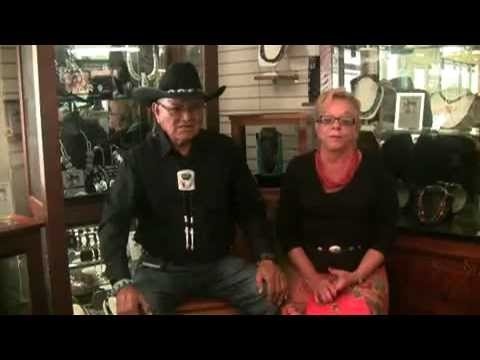 Interview with Tommy Singer, Navajo Jewelry Artist, at Lantern Dancer