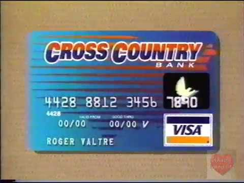 VISA Credit Card | Cross Country Bank | Television Commercial | 1996