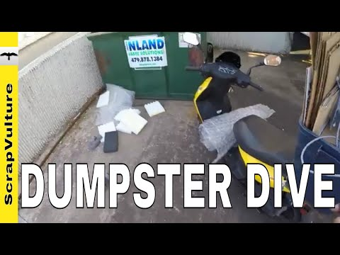 MISSION: Shipping & Packing Supplies (by Dumpster Diving)