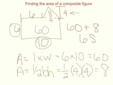 11-6 area of composite figures