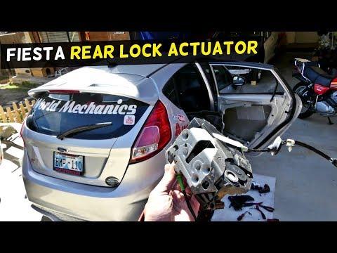 HOW TO REPLACE DOOR LOCK ACTUATOR ON FORD FIESTA MK7