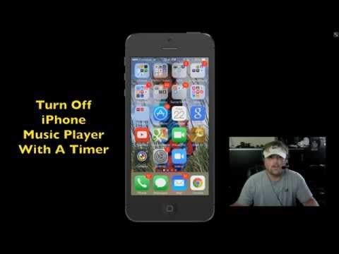 How To Stop iPhone Music With A Timer