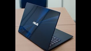 ASUS  ZenBook  UX430U (BLUE)  unboxing and review
