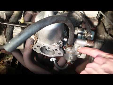 1972 Datsun/Nissan 240z SU Carb Spewing Fuel