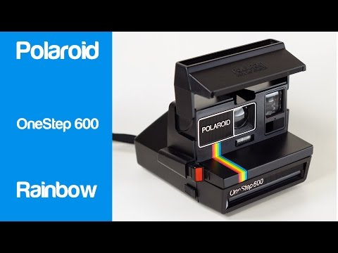 Polaroid OneStep 600 Rainbow Instant Camera