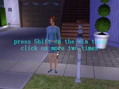 The Sims 2 - how to make sim become a vampire and cure it  HD