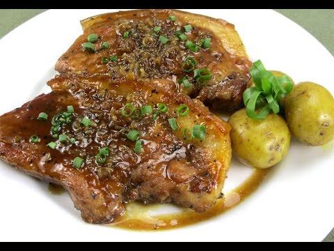 Sweet Garlic Pork Chops