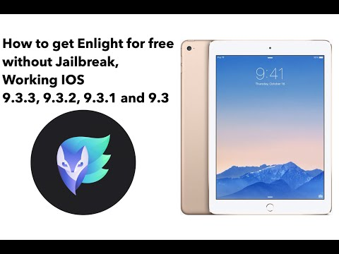 How to get Enlight for FREE without jailbreak, Working for iOS 9.3.3, 9.3.2, 9.3.1 and 9.3