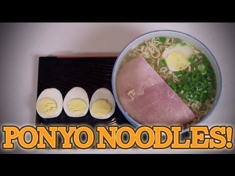 How to make PONYO NOODLES / RAMEN! Feast of Fiction S2 E14
