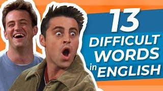 Do You Know These 13 Difficult English Words