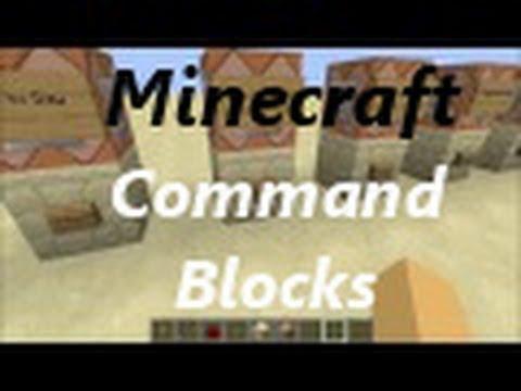 Minecraft Command Blocks : Basics (tp,spawnpoint,give,etc.)