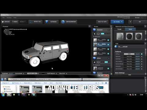 How to import OBJ 3D models  into After Effects