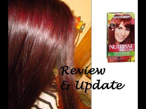 Garnier Nutrisse Light Intense Auburn Review & Update