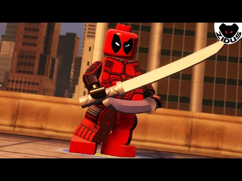 Lego Marvel's Avengers - How to Make Deadpool