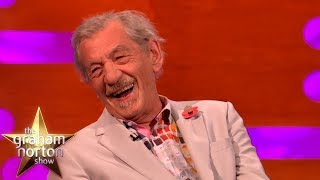 Download Sir Ian McKellen Accidentally Does Another Dame Maggie Smith Impression | The Graham Norton Show Video