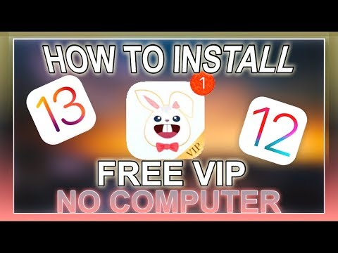 HOW TO DOWNLOAD TUTUAPP VIP ACCESS FOR FREE ON iOS 11/10 without computer!!!